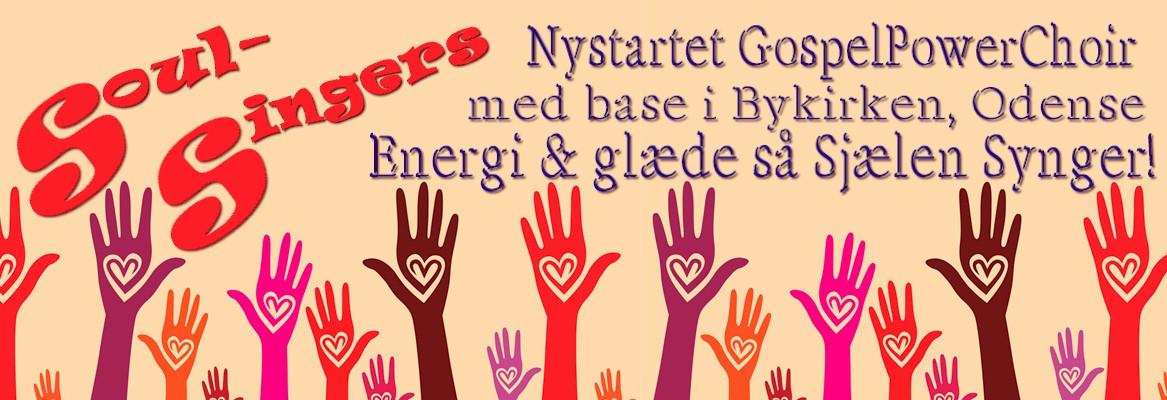 OpenUp presents SoulSingers - nyt PowerGospelChoir med base i Bykirken, Odense.