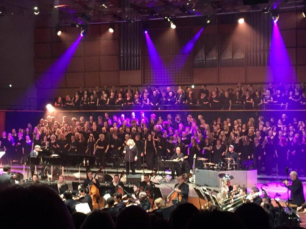 SoulSingers koncert med OS